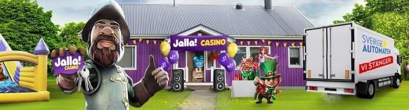 Jalla casino är den nya Sverigeautomaten